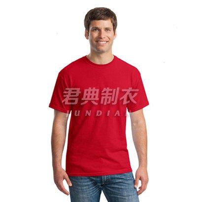 中国红纯棉系列圆领文化衫