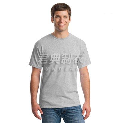 麻灰色精品商务文化衫