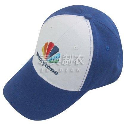 拼色设计经典广告棒球帽