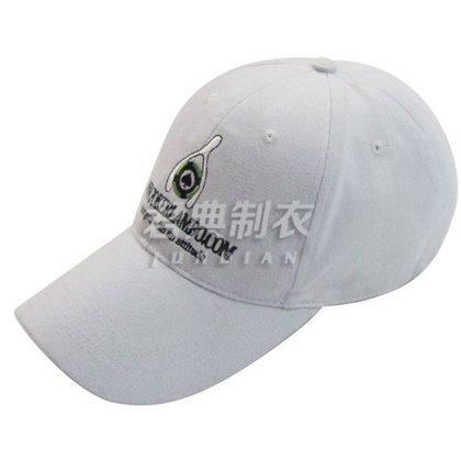 白色经典高档广告棒球帽
