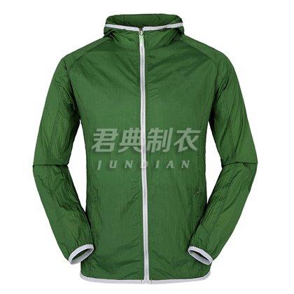 超轻防紫外线皮肤风衣