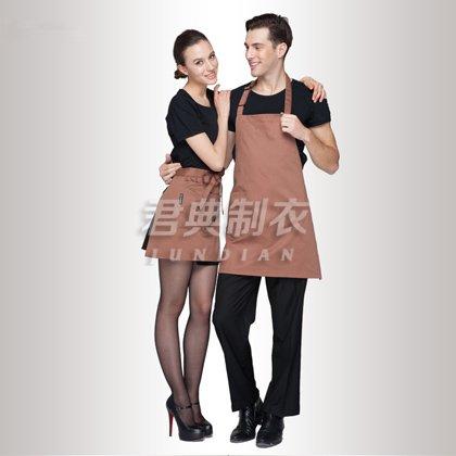 高品质纯棉促销围裙
