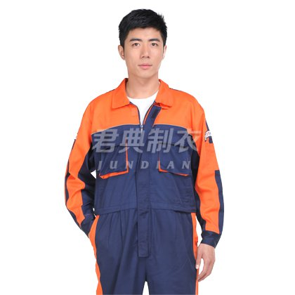 新款纯棉连体工装工作服
