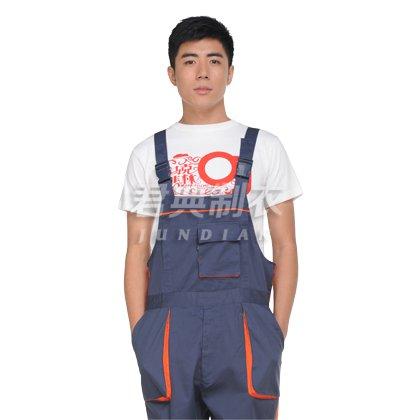 连体裤背带式连体工作服
