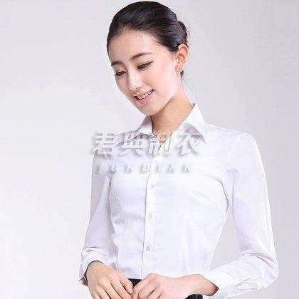 新款白领职业装衬衫订做