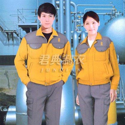 修理厂耐脏耐磨工作服订制