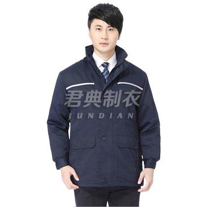 新款企业员工冬季工作服棉服