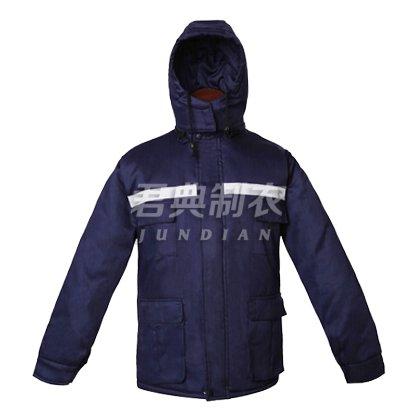 【反光条设计】企业户外棉服工作服