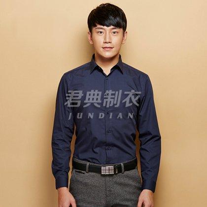 高档男士长袖衬衫定制