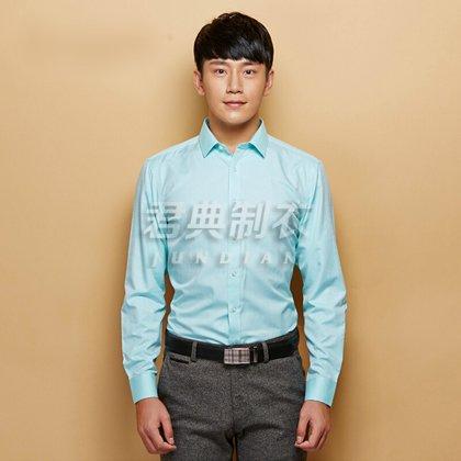春夏男士长袖衬衫团体定制