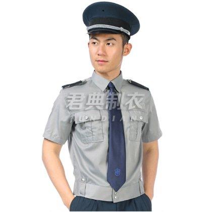 夏季短袖物业保安服定制