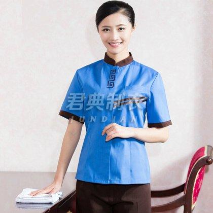 短袖物业保洁服装定制