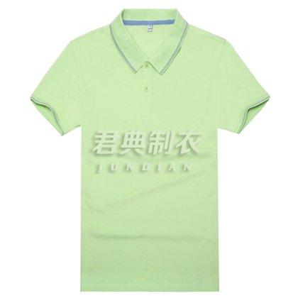 精品竹炭纤维棉T恤衫(果绿)