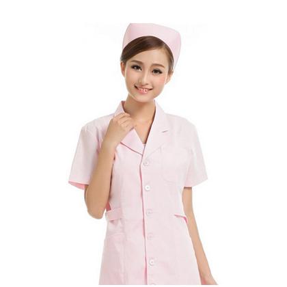 粉色系医院专用护士服定制