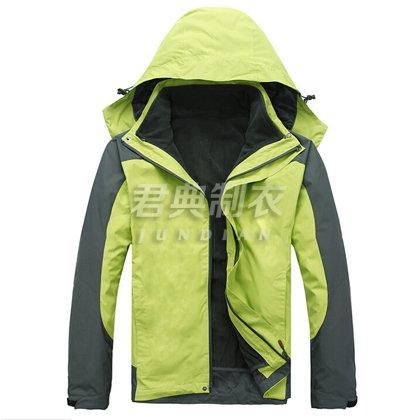三合一绿色现货冲锋衣