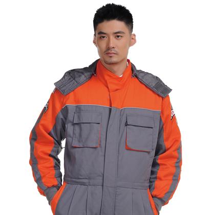 经典版型连体款工装棉服