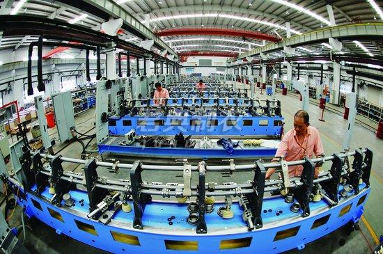我国纺织工业持续推进结构调整和产业升级
